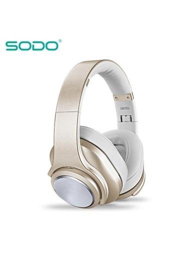 Sodo Sodo Mh10 Nfc Yapılı Hem Bluetooth Profesyonel Kulaklık Pembe